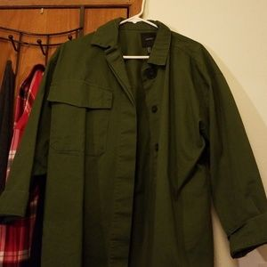 Oversized military style jacket